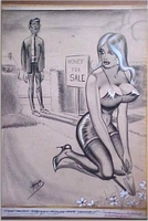 Bill Ward Conte Crayon - Large Honey girl GGA