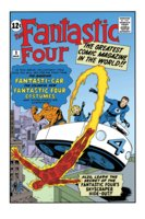 Fantastic Four #3 COLOR