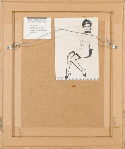 Fritz Willis Pinup Figure Study